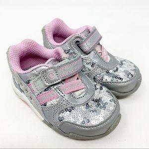 3/$30 Stride Rite sequin sneakers